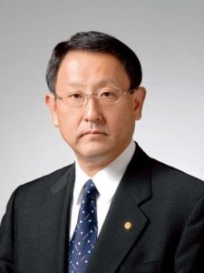 Family Heir and Incoming Toyota CEO Akio Toyoda