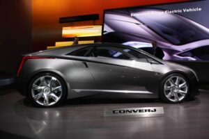 The original Cadillac Converj concept.
