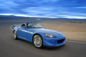 Honda's S2000 is ready to drive off