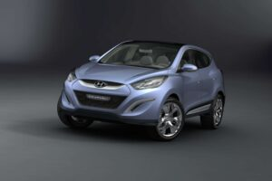 Hyundai's ix-onic debuts in Geneva.