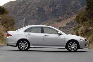 Import bias? Sec. Geithner owns 2008 Acura TSX, like this one.