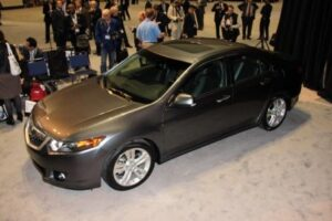 "Acura TSX V-6: ""Fresh and edgier,"" with a new, 280-hp V-6"