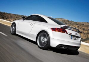 Audi TT RS Coupe: most powerful entry in the TT line-up.