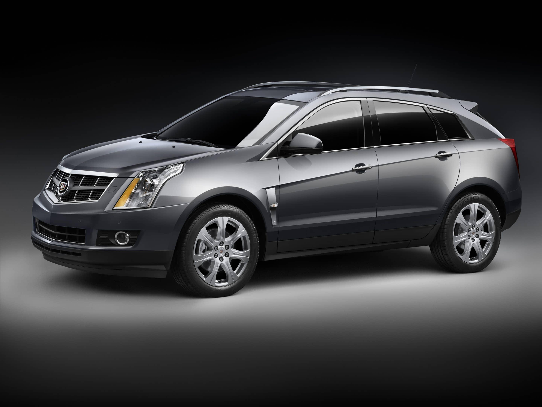 Sneak Peak: 2010 Cadillac SRX