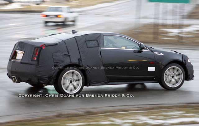 Spy Shots: 2011 Cadillac CTS Coupe V-series still alive!