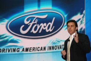 "Though ""volatility is the new norm,"" Ford President Mark Fields sees some solid signs for the U.S. auto market, driven in part by the Cash for Clunkers program."