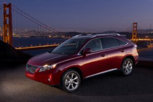 New Lexus RX350 Crossover, new ad voiceover.