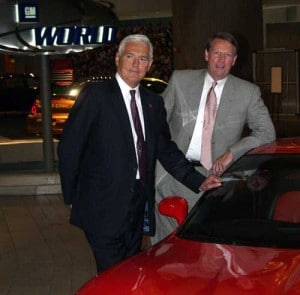 Bye-Bye Bob: Lutz with GM CEO Rick Wagoner