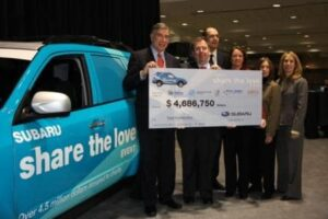 Subaru Shares the Love -- and $4.7 mil -- with five needy charities