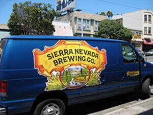 Tomorrow's beer-powered beer truck?