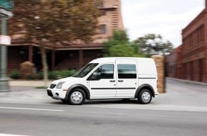 Ford's urban Transit Connect van