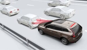 I See You: Volvo's City Safety system at work