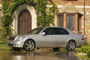 Lexus slips to third in the Power Dependability Study, but still scores a best-ever with its 2006 LS430.