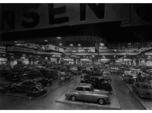 The British International Motor Show resumed in 1949 in London.