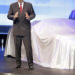 Carl-Peter Forster, President of GM Europe at Opel GT Reveal
