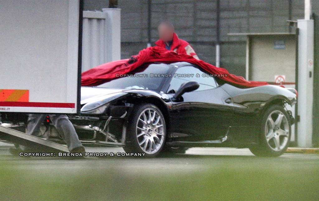 Spy Shots: Ferrari F450