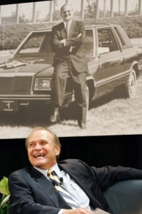 Why is this man smiling? Whether Chrysler survives or fails, CEO Bob Nardelli is not likely to remain at its helm.