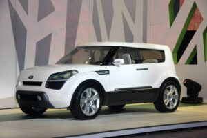 Long time waiting; Soul made its debut at the 2007 LA Auto Show.
