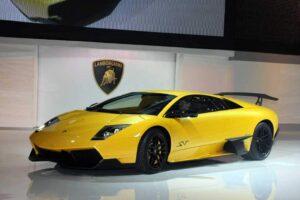 Lamborghini Murcielago LP 670-4 SuperVeloce.