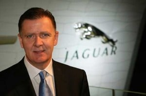 A frenetic 18 months at Jaguar for Managing Director Mike O'Driscoll