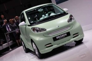 Smart's Brabus electric drive concept.  Would the Jetsons want one?