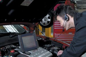 Electronic diagnostic tools are expensive and specialized.