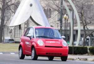 Think will launch production of the U.S. version of its City commuter car in early 2011.