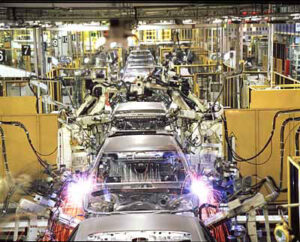 The problem is that sparks are no longer flying on Japanese assembly lines as the Great Recession deepens.