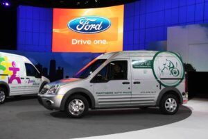 Ford will make the Transit Connect its first Battery-Electric Vehicle.