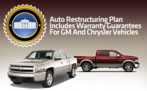 Treasury Dept. will provide the bulk of funds for the Warranty Commitment Program, designed to cover GM, Chrysler warranties in the event of a bankruptcy.