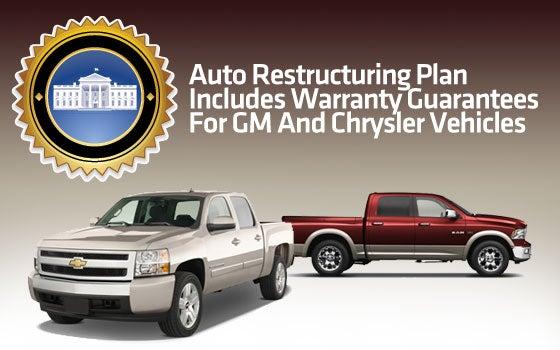 Treasury to Back GM, Chrysler Warranties