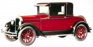 The Pontiac brand, introduced as a 1926 coupe and sedan, was Sloan's first step up marketing ploy.