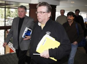 Will a dispute with Canadian workers bring down Chrysler? CAW President Ken Lewenza doesn't appear ready to blink.