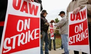 Picket Lines are a thing of the past as a UAW bargaining tool.