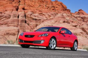 Turning heads and leaving tire tracks, the 2010 Hyundai Genesis Coupe should redefine the Korean brand.