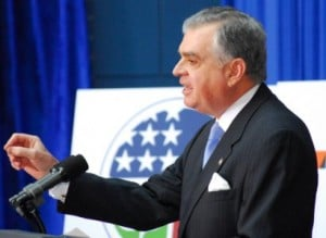 Obama's lead on fuel economy, Ray LaHood, will sort the politics and the policy in this high stakes issue.
