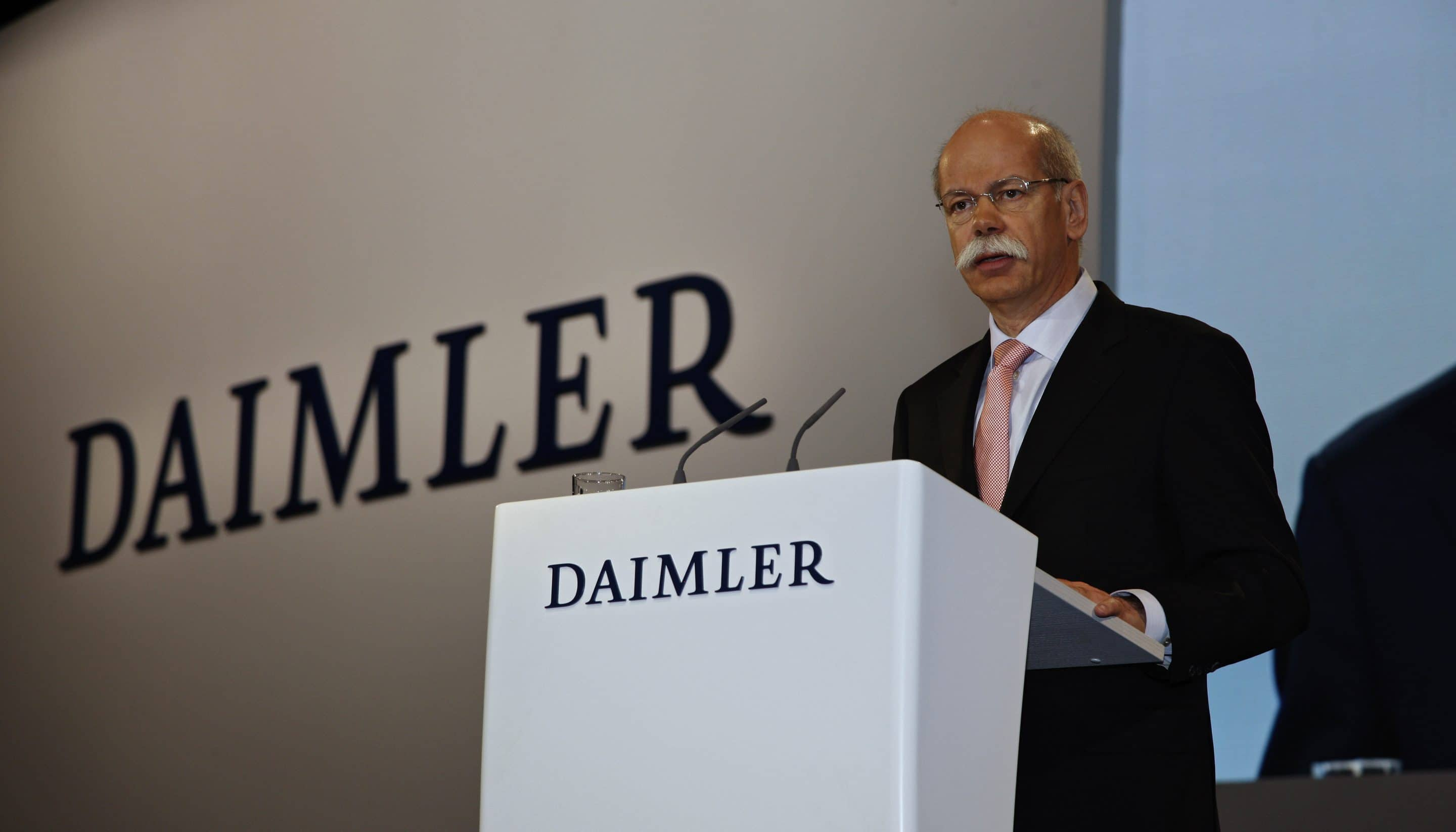 Cash For Clunkers >> Daimler's Dieter on the Bubble? | TheDetroitBureau.com
