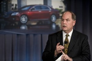 While Chrysler used bankruptcy laws to walk away from product liability claims, GM officials -- CEO Fritz Henderson shown here -- will remain liable after emerging from Chapter 11.
