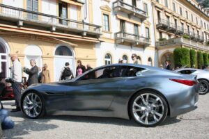 The Infiniti Essence concept car was a favorite at both the Geneva Motor Show and at Villa d'Este.