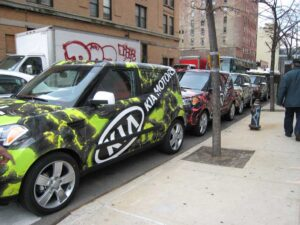 Kia Soul art car
