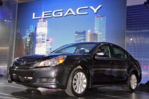 Subaru's 2010 Legacy is bigger in every dimension, which should better position it in the midsize segment.