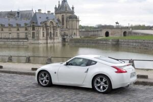 Great scenery, but not the best place to test the 2010 Nissan 370Z.