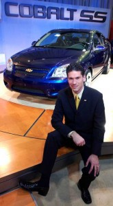Veteran GM Designer Phil Zak, shown here with his '05 Chevrolet Cobalt, is moving to Hyundai.