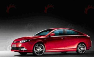 Chinese makers are showing a number of new products, this year, including Roewe's new MG6.
