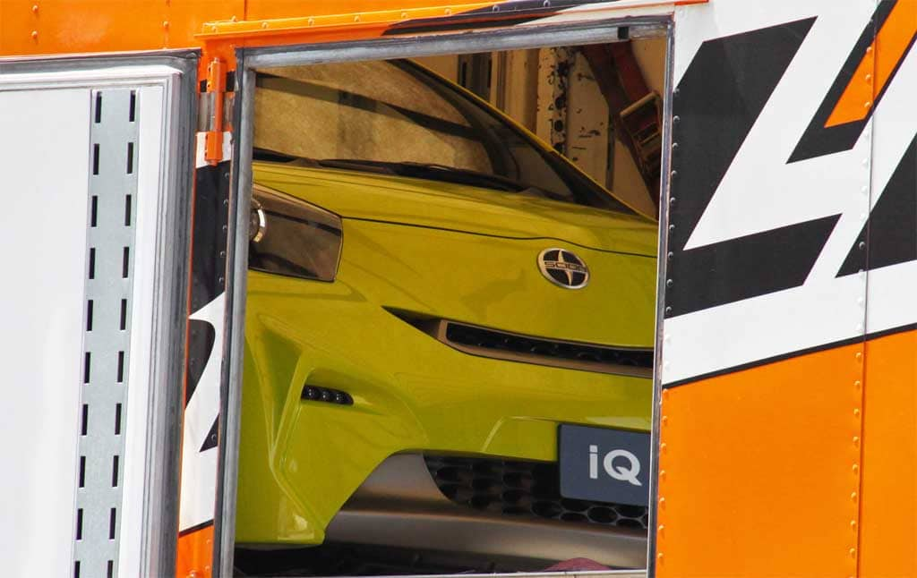Spy Shots: Scion IQ