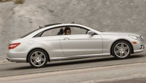 The old Mercedes CLK morphs into the new Mercedes-Benz E-Class Coupe for 2010.