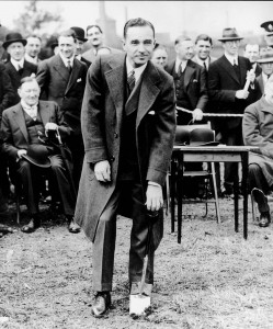 Edsel Ford Cutting First Sod At Dagenham