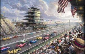 "When the most famous words in motorsports, ""Gentlemen and Lady … START YOUR ENGINES"" are proclaimed, Middle America's iconic race, the Indianapolis 500 gets underway with classic touches -- and others decidedly out of the ordinary, this year."