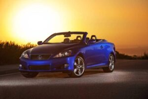 Can Lexus inject some passion into the brand with models like the 2010 IS250C convertible?
