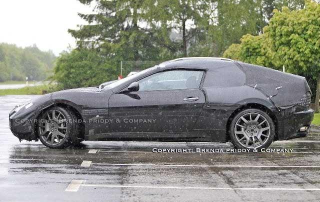 Spy Shots: Maserati Hardtop Convertible